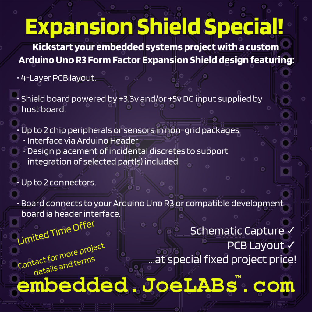 The JoeLABs Expansion Shield Special!